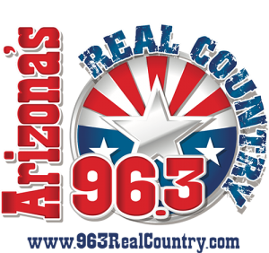 96.3 Real Country Logo